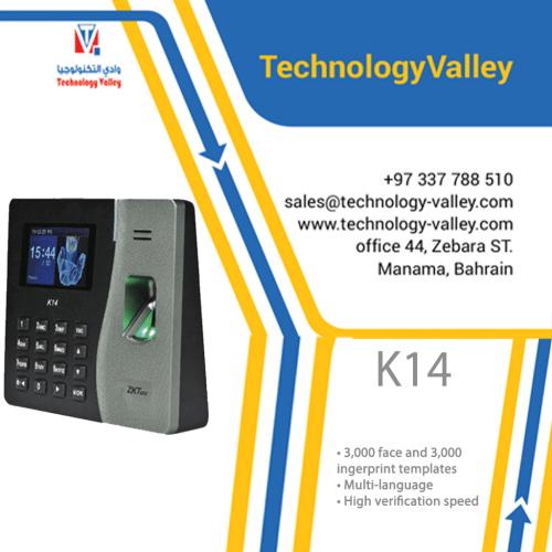 K14 Time & Attendance Biometric Fingerprint Device