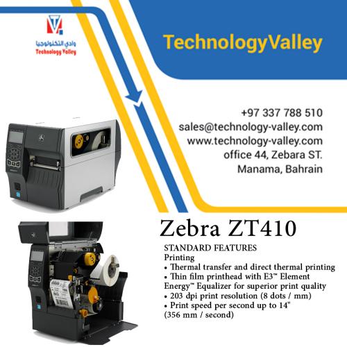 Zebra ZT410 INDUSTRIAL PRINTER Barcode & label printer in Bahrain