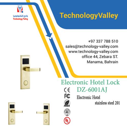 Electronic Hotel Lock stainless steel DZ-6001AJ in Bahrain